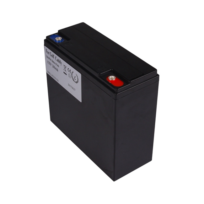 golf caddy battery