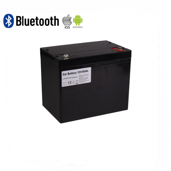 12V 80AH LITHIUM ION BATTERY