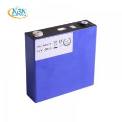 3.2v 120Ah LiFePO4 Prismatic Battery Cells