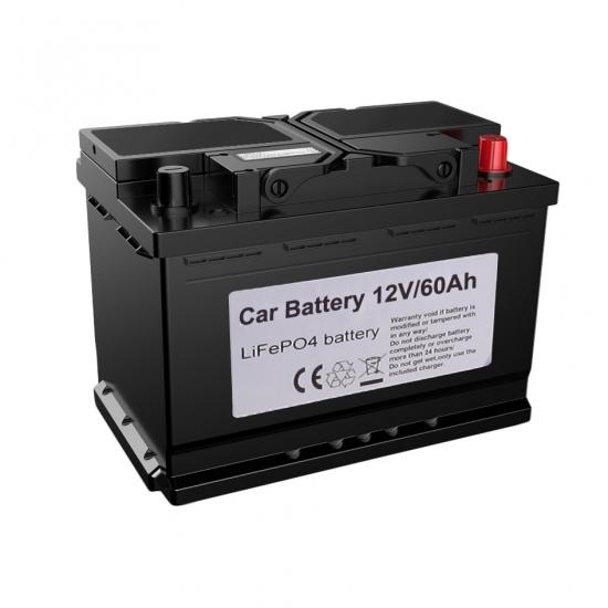 Buy Lithium Lifepo4 Car Battery Wholesale 12v 60ah 62ah Customized