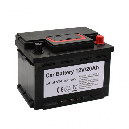 Car Automotive Battery 12V 20Ah Lithium Batteries