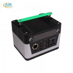 Buy Factory Price KOK POWER Portable Power Station 300W 12V 26Ah 280Wh Lithium Battery Solar Power Generator For Outdoor House