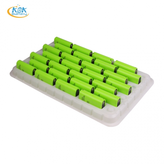 Buy Factory Price KOK POWER 5000mah lithium ion battery cell 3.6v rechargeable battery for torch light
