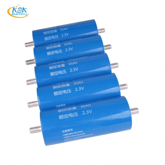 Buy Factory Price 6 minutes fast charge Lithium titanate battery 2.4V 35AH LTO for energy storage boat camper