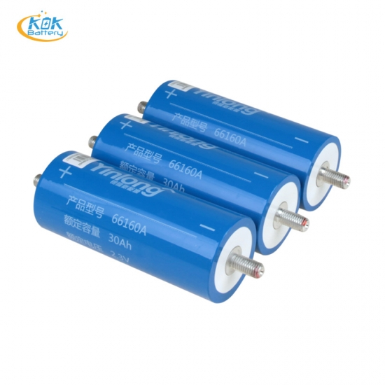 Buy Factory Price New LTO battery 2.3 v30AH LTO 66160A lithium titanate battery 66160 2.3v30ah lto