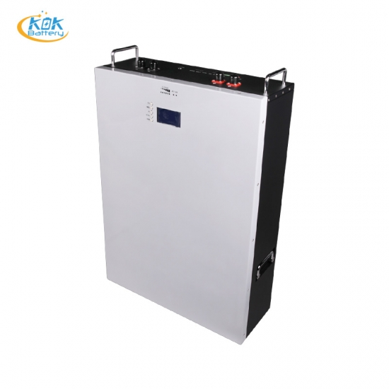 Buy Factory Price KOK LFP 48V 100Ah Wall-Mounted Type Home Energy Storage System Solar Power Lithium Battery