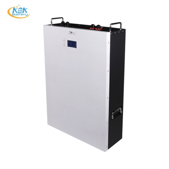 Buy Factory Price KOK 51.2V 150Ah Lithium LiFePO4 Wall Mount Solar System For Household with Hybrid Inverter