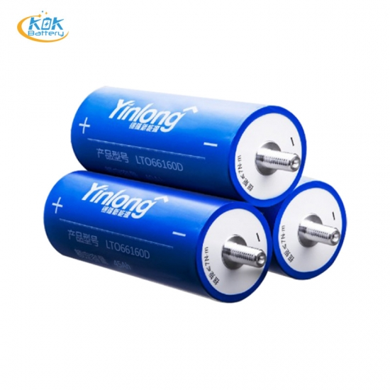 Buy Factory Price New yinlong 66160 LTO battery LTO 66160D lithium titanate battery 66160 2.3v 45ah lto