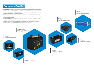 KOK POWER LTIHIUM BATTERY CATALOG